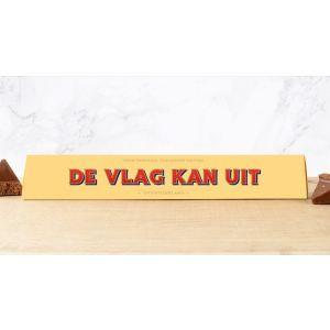 Toblerone 100g: DE VLAG KAN UIT