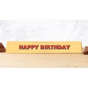 Toblerone 100g: HAPPY BIRTHDAY