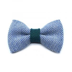 YUMI BOW TIE - ice blue | moss green