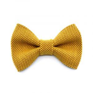 NŒUD PAPILLON YUMI - jaune | jaune