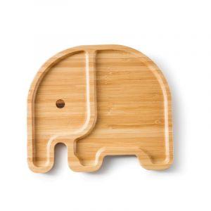 Bamboo Plate, Elli the Elephant