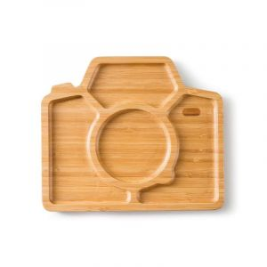 Bamboo Plate, Snap & Smile