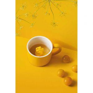 Animal mug Maneki Neko Yellow