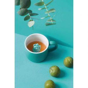 Animal mug Maneki Neko Turquoise