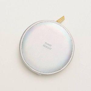 Circle Coin Purse - Iridescent