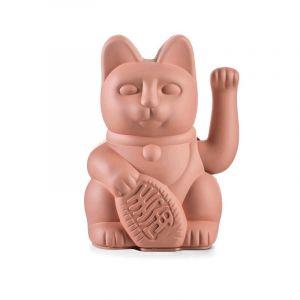 Lucky Cat / Pink Waving Cat