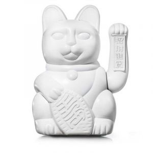 Lucky Cat Large White