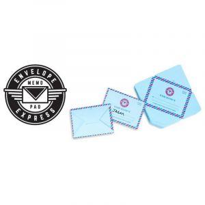 Mini courrier,bloc notes de 100 feuilles pliables
