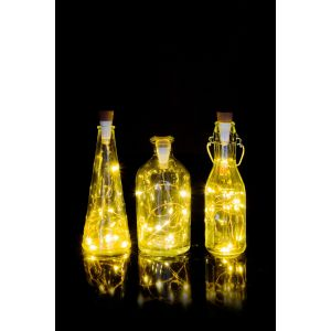 Bottle Light String White