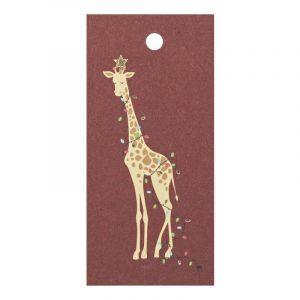 Gift Tag-Christmas Giraffee