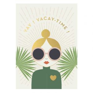 Yay! Vacay Postcard