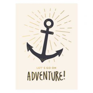 Adventure Anchor Postcard