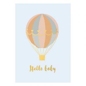Hello Baby Postcard