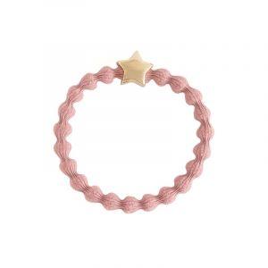 Star Hair Tie, Gold Pink