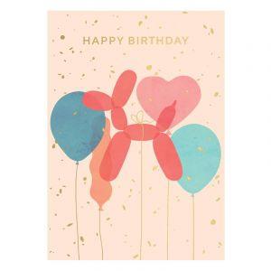 Happy Birthday Balloons SS2020 Postcard