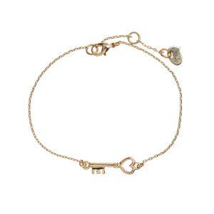 Key Bracelet - Gold