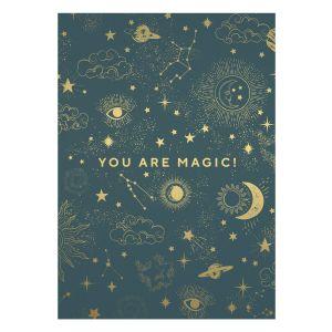 You Are Magic! Postcard