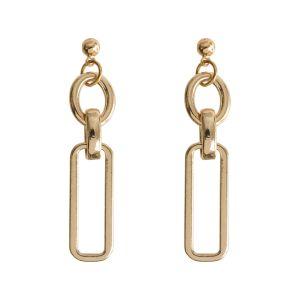 Dangling Minimalistic Earring - Gold