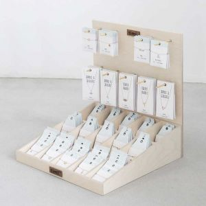 Wood counter display stand Make a Wish, top