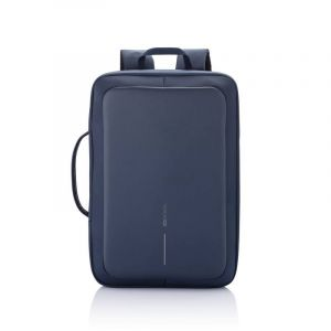 Bobby Bizz anti-theft backpack & briefcase, blue
