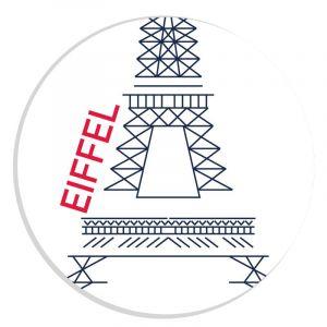 Autocollant Eiffel