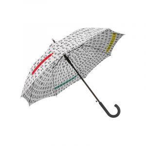 Parapluie de mots qui changent de couleur