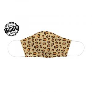 Face Mask Adults Cheetah