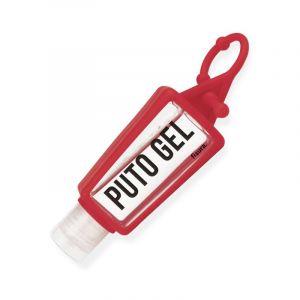 Porte-clés bouteille 'Puto Gel'