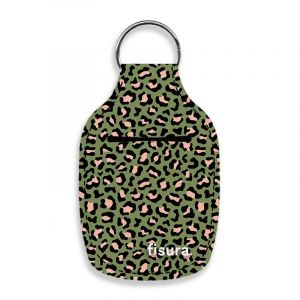 Porte-clés Gel Green Cheetah