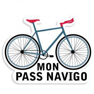 Autocollant Mon pass Navigo
