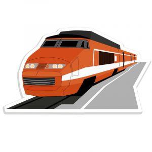 Autocollant TGV