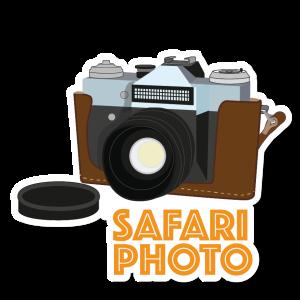 Autocollant Safari Photo