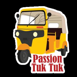 Autocollant Passion Tuk Tuk
