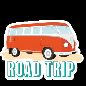 Autocollant Road Trip