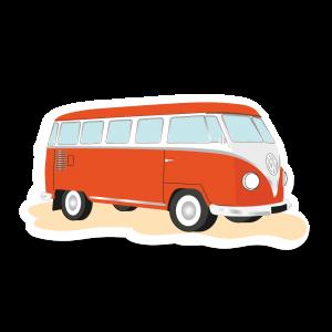 Autocollant Van