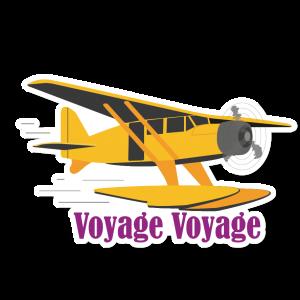 Autocollant Voyage Voyage