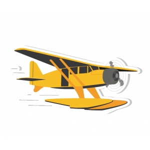 Autocollant Hydravion