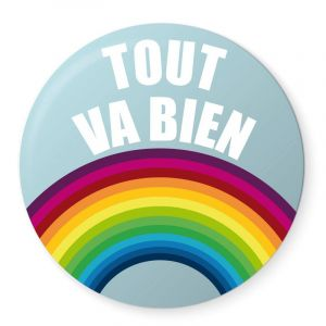 Badge Tout va bien