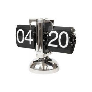 Clock Table 'Flip' Chrome