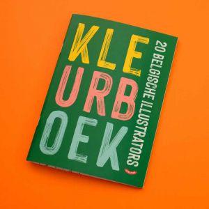 Kleurboek 20 Belgische illustrators