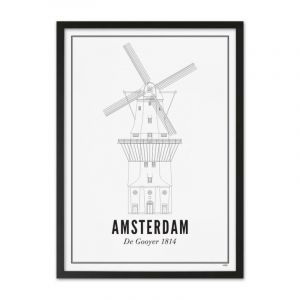 Prints - Amsterdam - De Gooyer X1