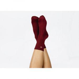 Heart Socks Red