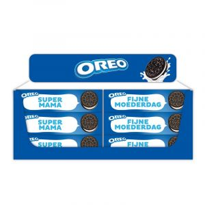 Table Display Oreo 154g Mother's Day Netherlands/Flanders, 24 pcs, 4 different texts
