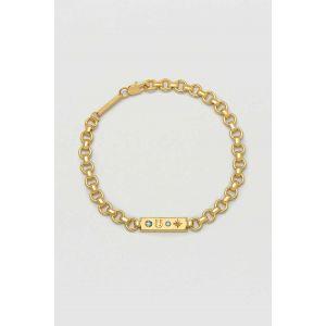 Chain ID Bracelet - Gold Plate