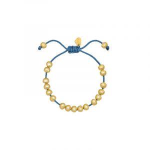 Seashore Friendship Bracelet - Yellow Gold