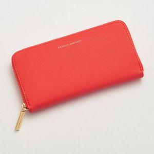 Zip Wallet - Coral