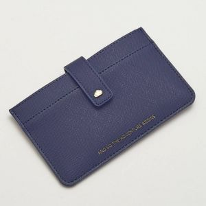 Travel Document Wallet - Navy