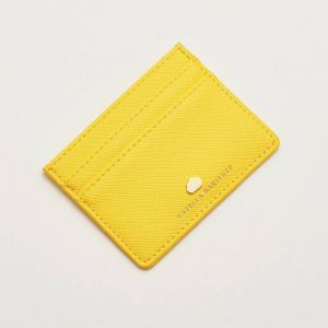 Card Holder - Yellow -  Positive Vibes