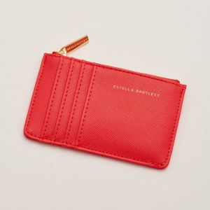 Rectangle Card Purse - Coral