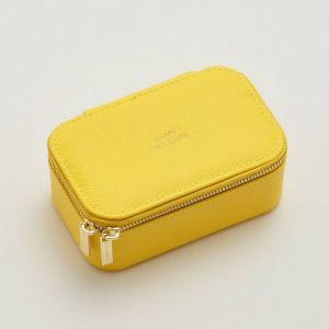 Mini Jewellery Box - Yellow